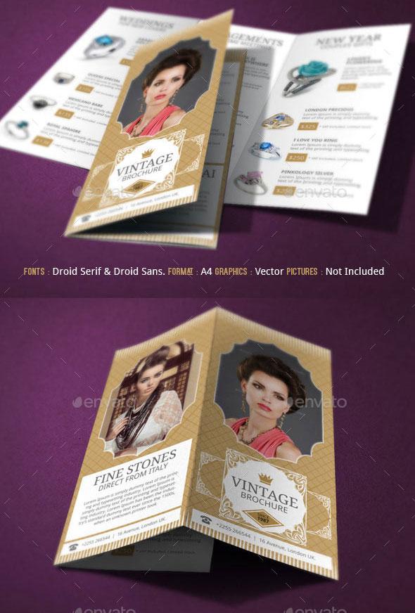 Jewelry Brochure Nodecvresumepaasprovidercom - Fashion brochure templates
