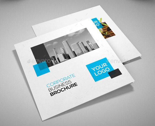 21 Striking Square Brochure Template Designs Web  Graphic Design