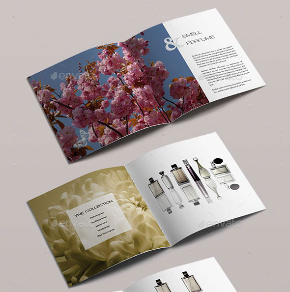 21 Striking Square Brochure Template Designs Web  Graphic Design - product brochure template