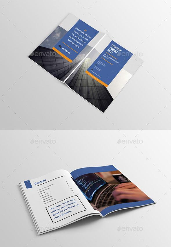 30 Awesome Company Profile Design Templates \u2013 Web  Graphic Design