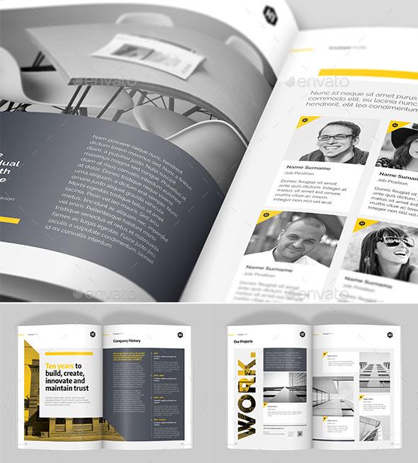 30 Awesome Company Profile Design Templates Web  Graphic Design