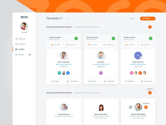 40 Great Dashboard UI Designs 2017 \u2013 Web  Graphic Design on Bashooka