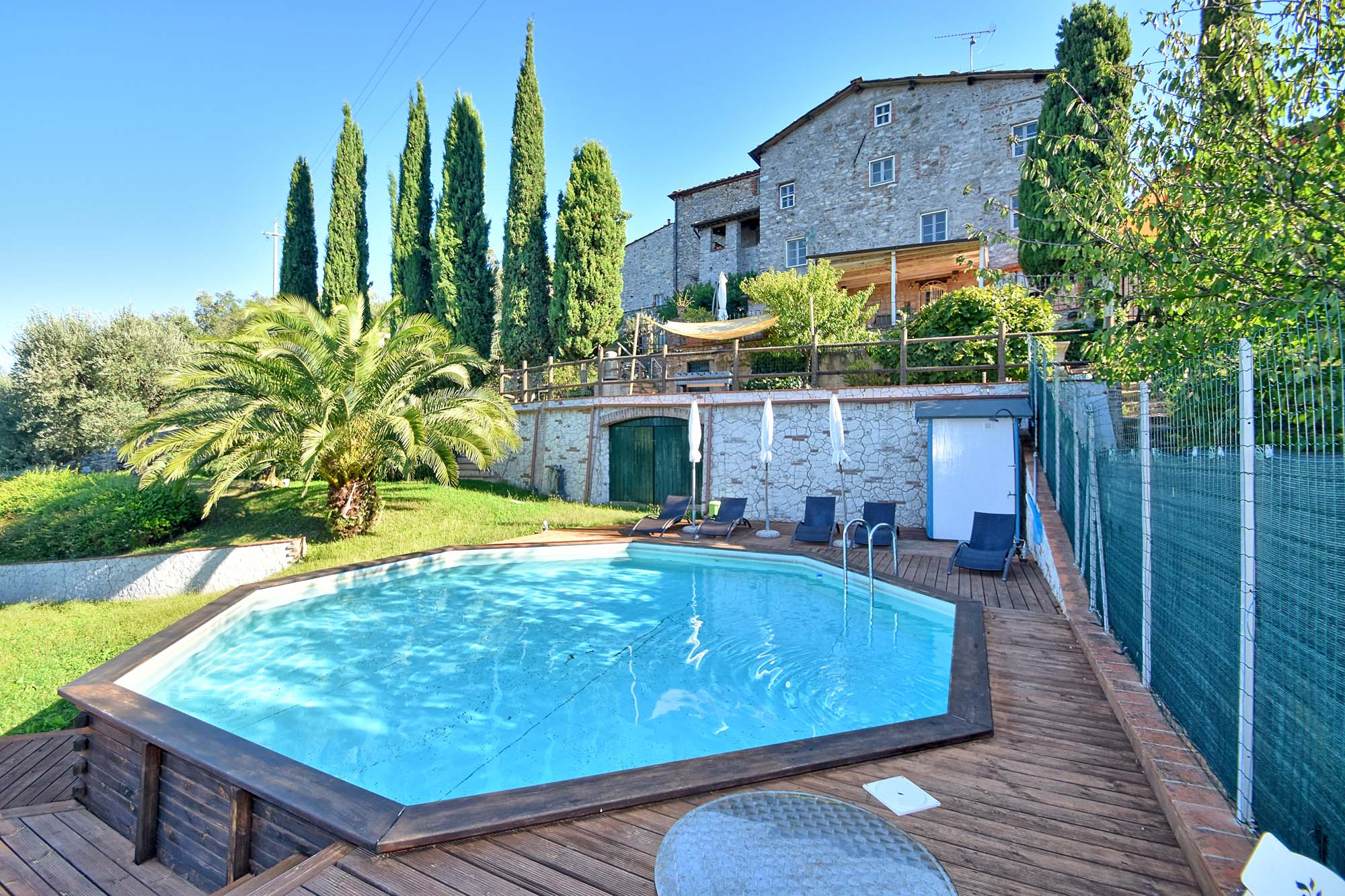 Ferienhaus Mit Pool Lucca Holiday House In Chiatri With Pool To Rent In Tuscany