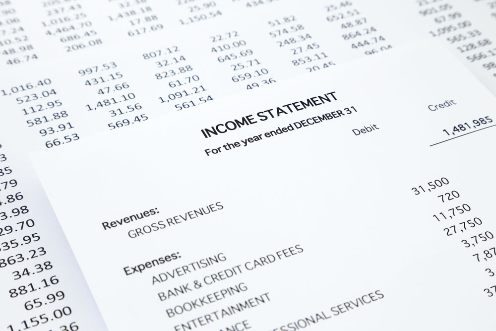 Sample Income Statement Free Income Statement Template \u2013 Basic