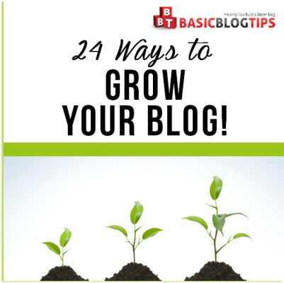 24 Ways to Grow Your Blog