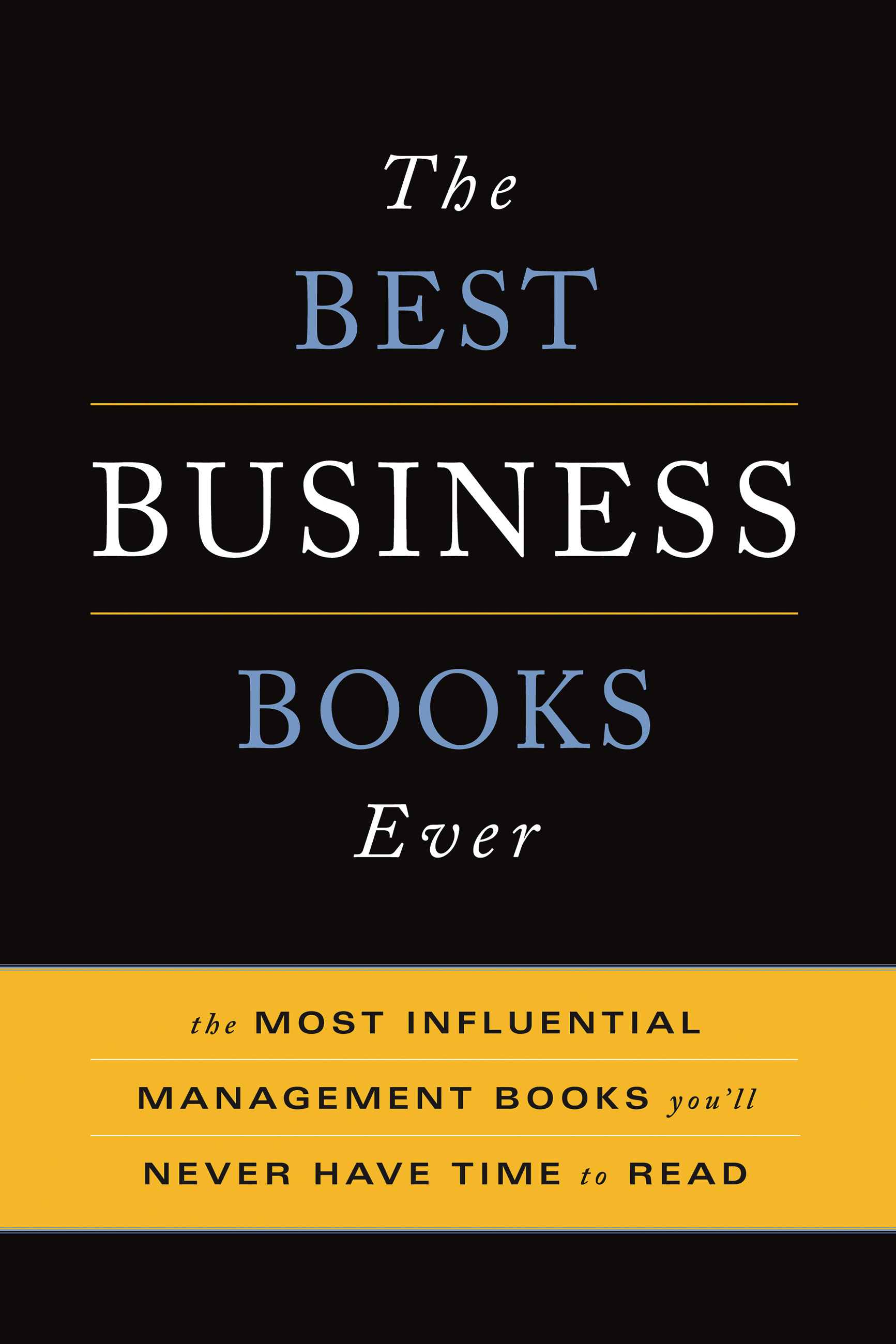 Best Read Ever The Best Business Books Ever