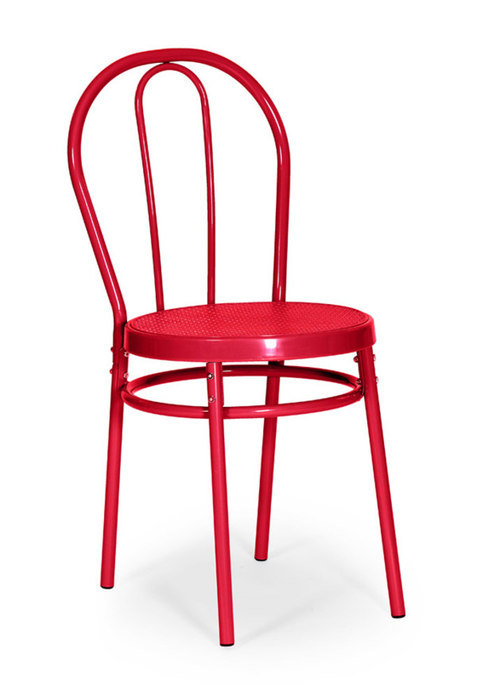 Chaises Bistrot Chaise Bistrot Rouge