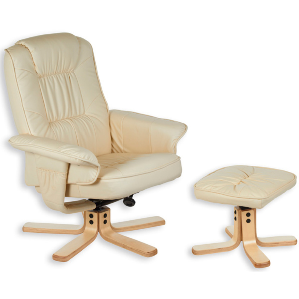 Fauteuils Beige Fauteuil Relax Charly