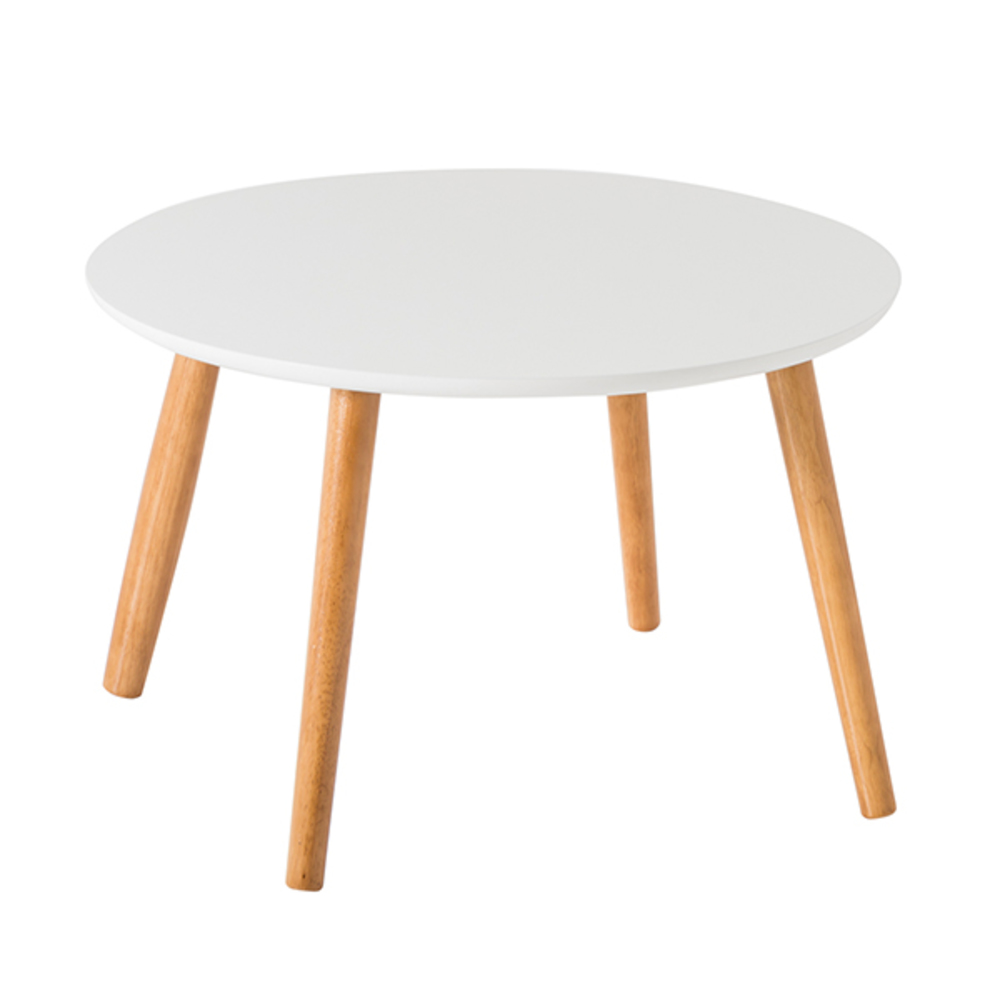 Table Ronde Basse Bois Table Basse Ronde Nomade Ronde