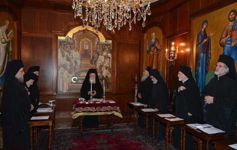 Sfântul Sinod al Patriarhiei Ecumenice a Constantinopolului