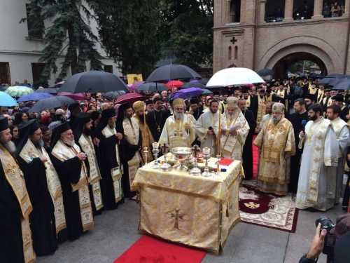 Sfinţire Mănăstirea Antim