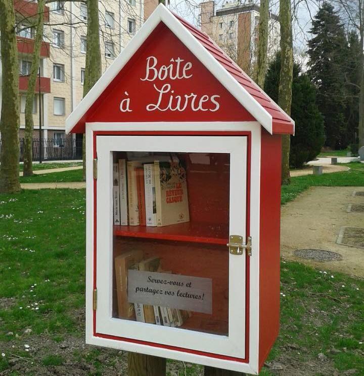 Lancement d'un concours «Boîte à livres»