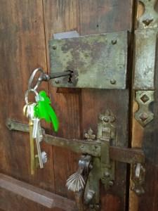 La clés.