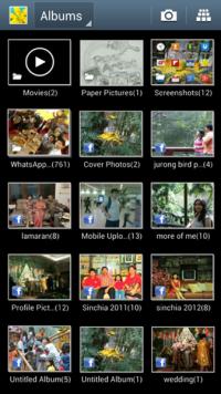 Screen shots album