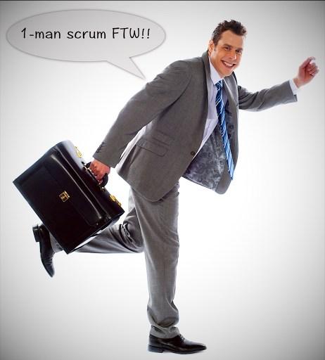 One Man Scrum