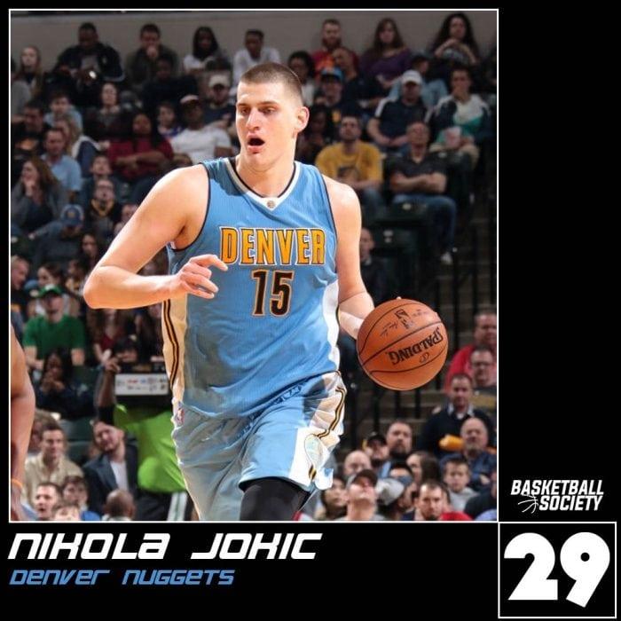 Society Top 50: No. 29 - Nikola Jokic