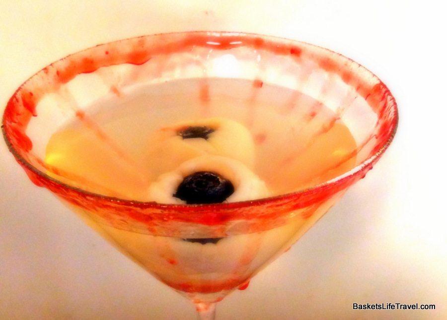 Eyeball Lychee Martini Recipe