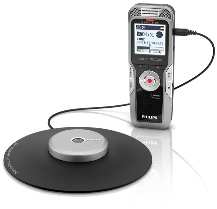 Speech Processing Solutions introduce la nuova gamma di registratori vocali Philips Voice Tracer