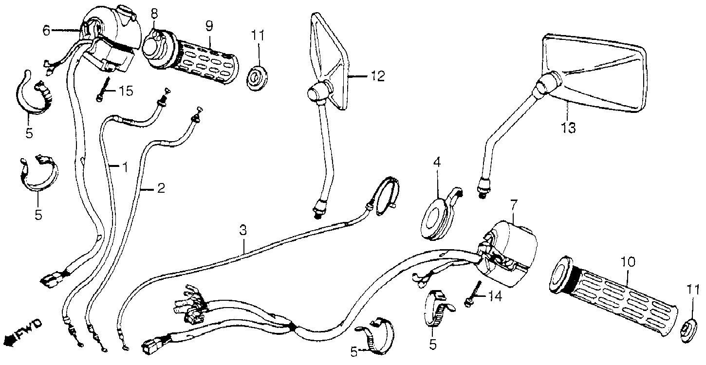 1983 honda magna 750 wiring diagram
