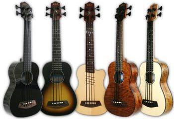 Kala Introduces New Electric Acoustic U-Basses