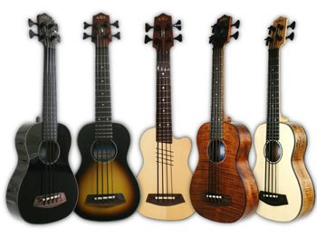 Kala Introduces New Electric Acoustic U-Basses