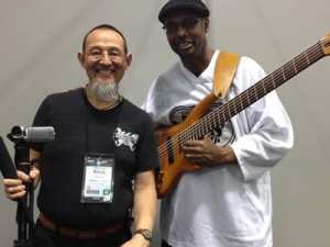 Gerald-Veasley-and-Raul-Amador-for-Bass-Musician-Magazine