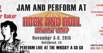 Rock and Roll Fantasy Camp with Counselors Tony Franklin,Rudy Sarzo and More