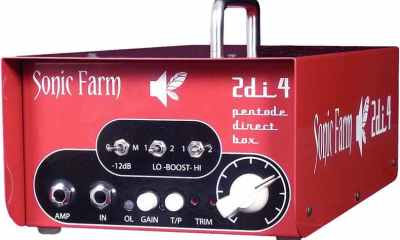 Sonic Farm 2di4 Pentode Direct Box Review-2
