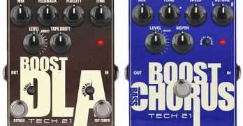 Tech 21's Boost DLA and Bass Boost Chorus Go Metallic