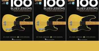 100 Blues Lessons - Bass Lesson Goldmine Series from Hal Leonard