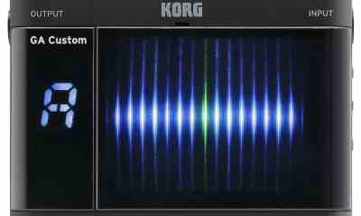 KORG Introduces Custom Shop Series of Tuners