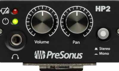 PreSonus HP2 Personal Headphone Amplifier Great Choice for In-Ears