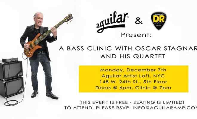 Aguilar-Amplification-and-DR-Strings-Announce-a-Clinic ...