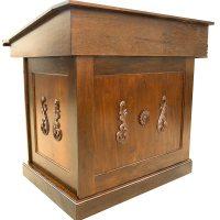 Carved Classical Wood Bimah - Bass Synagogue Furniture