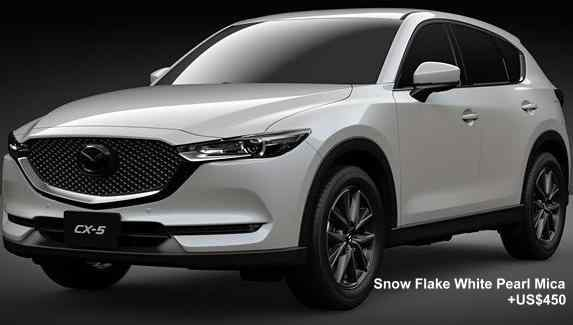 Vehicle Body Manufacturers New Mazda Cx5 Body Colors Full Variation Of Exterior