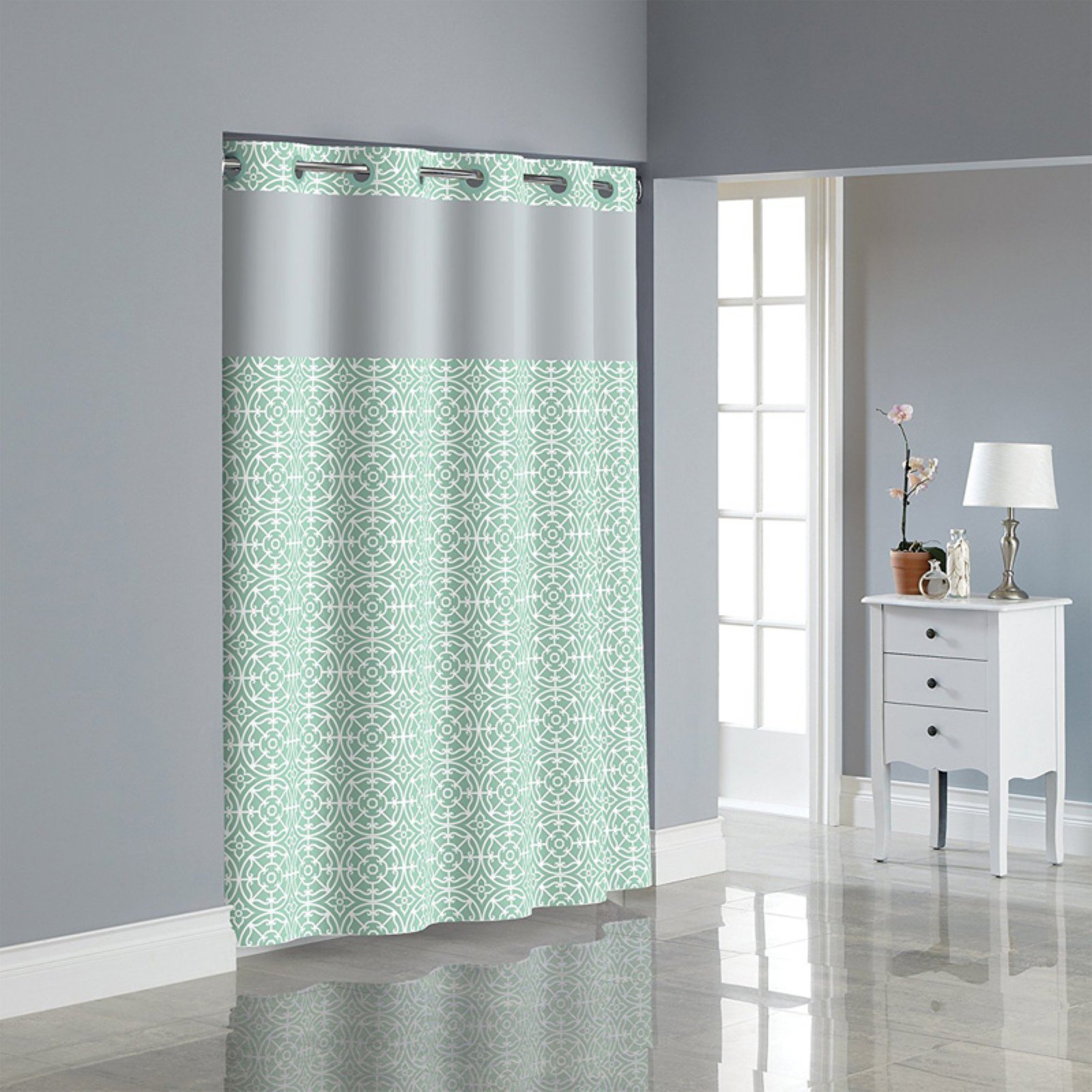 Kohls Com Shower Curtains Kohls Shower Curtains Hookless