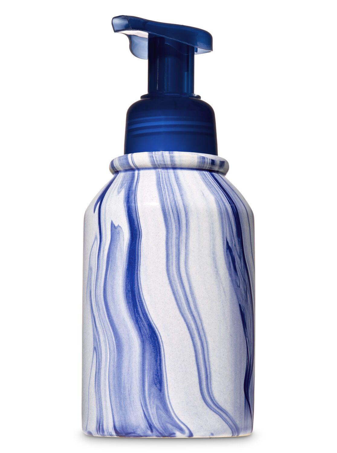 Unique Hand Soap Dispenser Blue Swirl Soap Dispenser