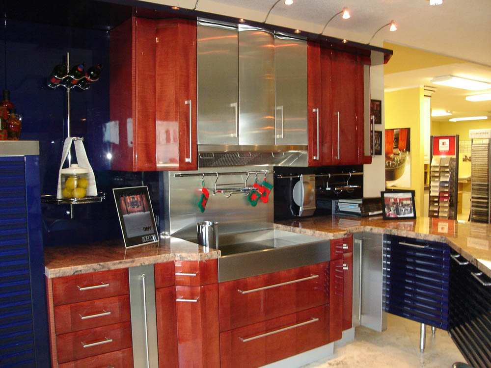 Transitional Kitchen Design Bath & Kitchen Creations Showroom | Boca Raton, Palm Beach, Fl