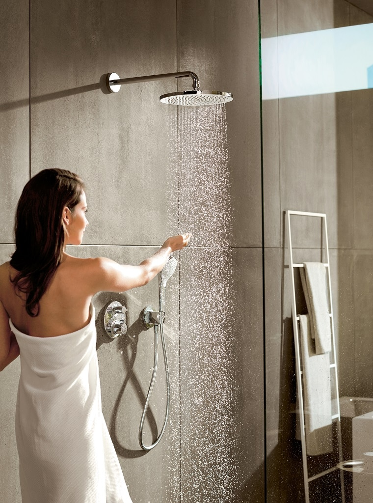 Hansgrohe Ecostat Select Hansgrohe Croma Shower Heads – Bathhouse