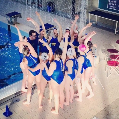 The Bath Women's 1s Water Polo Team have won four games out of four this year