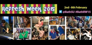 The University of Bath's Students' Union has launched Refresh Week 2015.