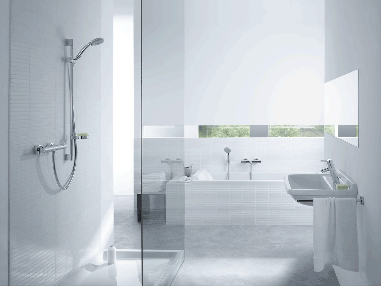 Hans Grohe Hansgrohe Bathroom Design At Bathline Luxury Bathrooms Northern