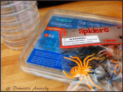 DIY Spooky Spider Soap – Good Clean Fun For Halloween