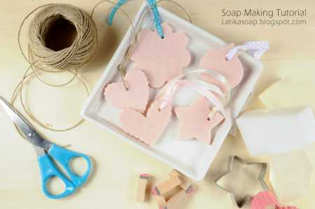 DIY Wedding Favor Soaps