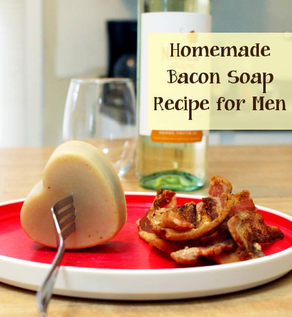 Soap making – Bacon Man Soap