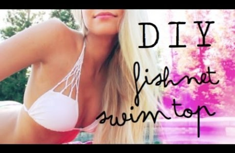 Style Me Quick – Fishnet Bikini Top