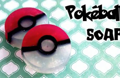 DIY – Pokemon Ball Soaps