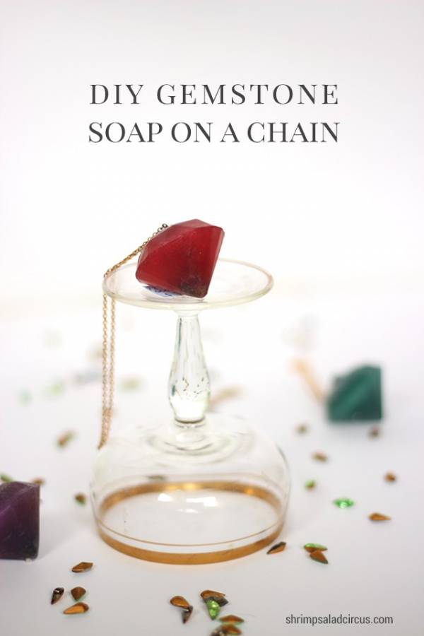 Diy Soap On A Chain Bath And Body