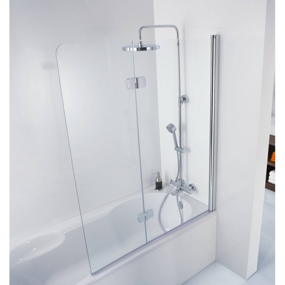 Hsk Softcube Hsk Premium Softcube Pivot Bath Screen With Optional Side Panel