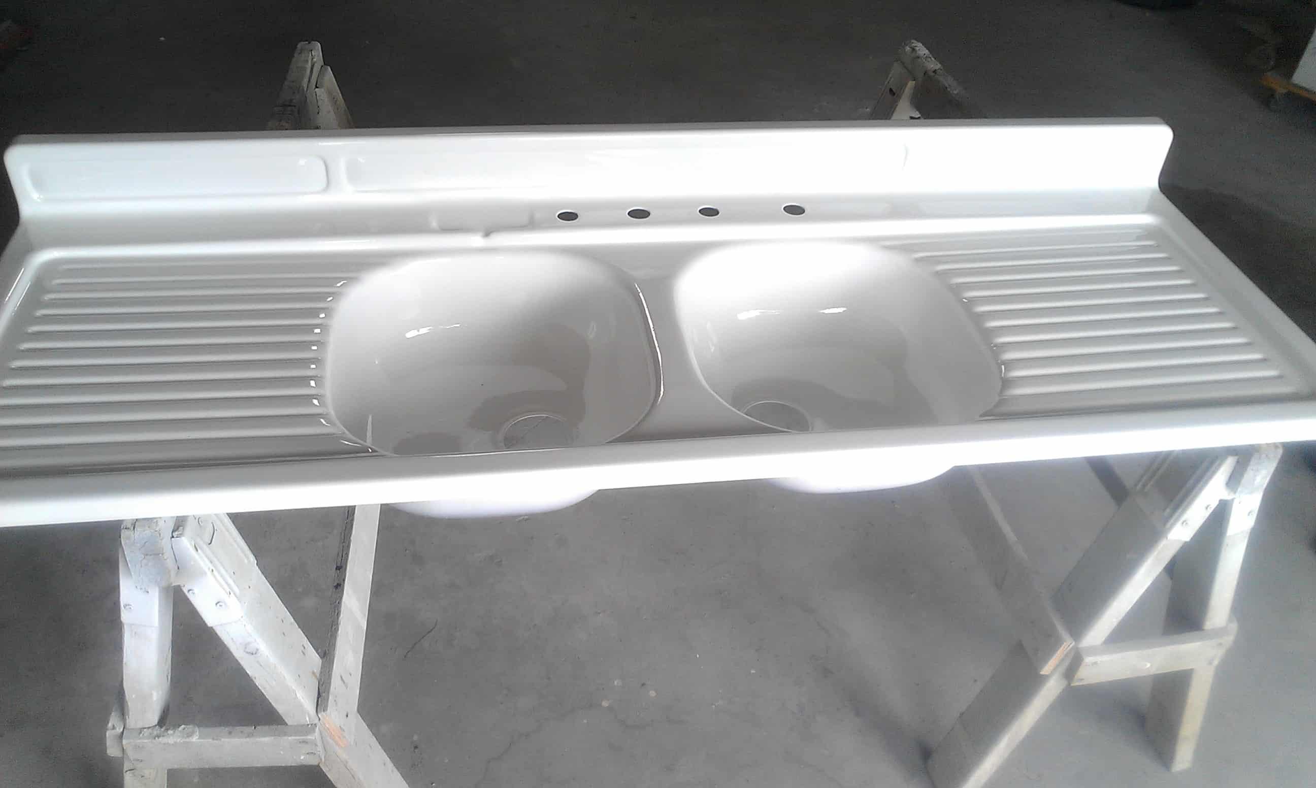 refinish porcelain sink refinish kitchen sink Enamel over steel kitchen sink refinishing Kitchen Sink Refinishing Maryland Wash DC N Virginia